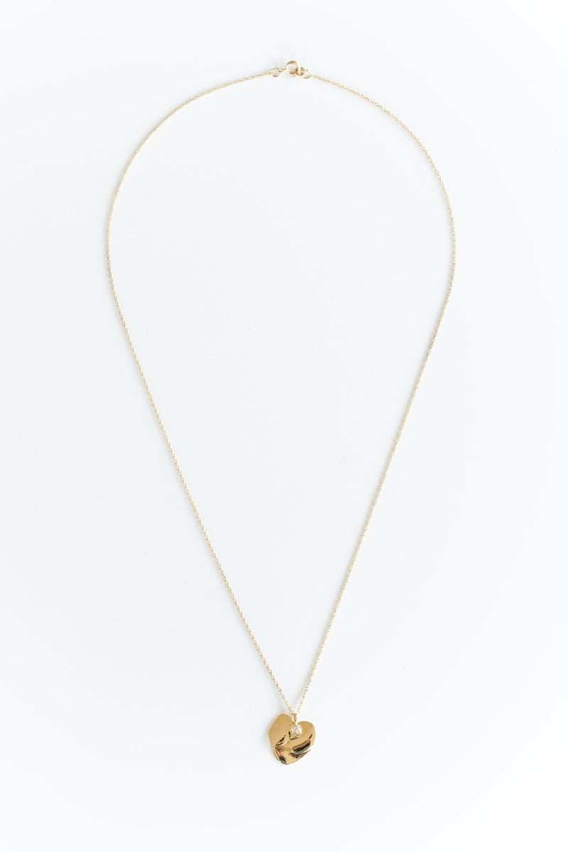 14K VIOLET NECKLACE