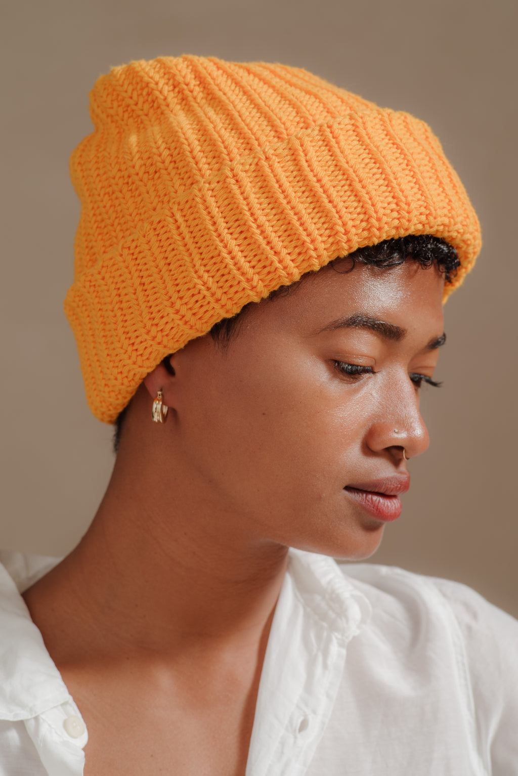Reliquary | KNIT HAT IN GOLD