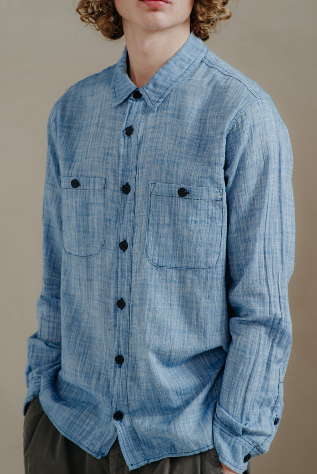 CP Shades | WASHED CHAMBRAY ASPEN SHIRT