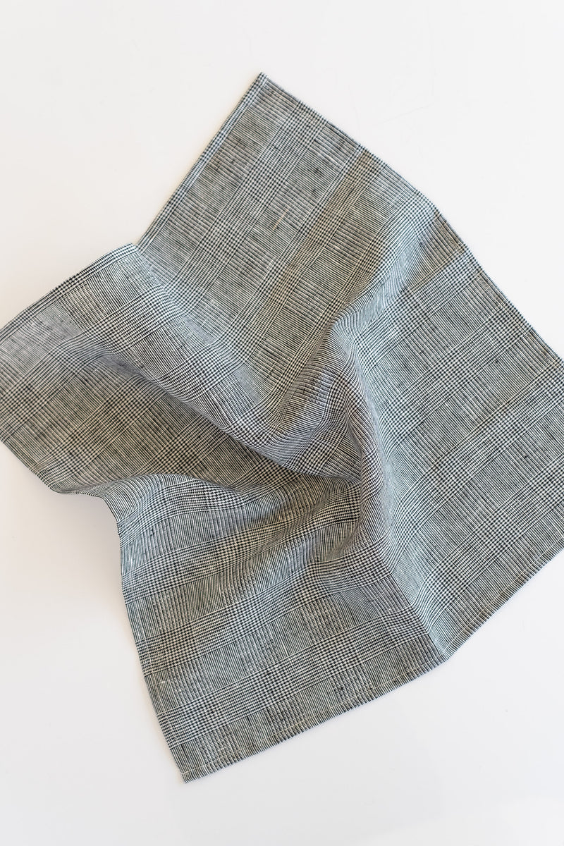 LINEN NAPKIN IN GLENN CHECK