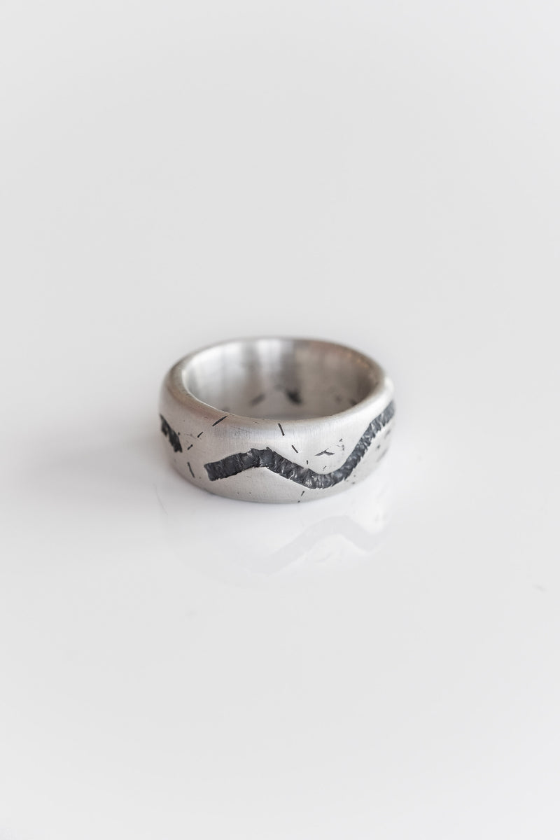 SILVER CANAL RING