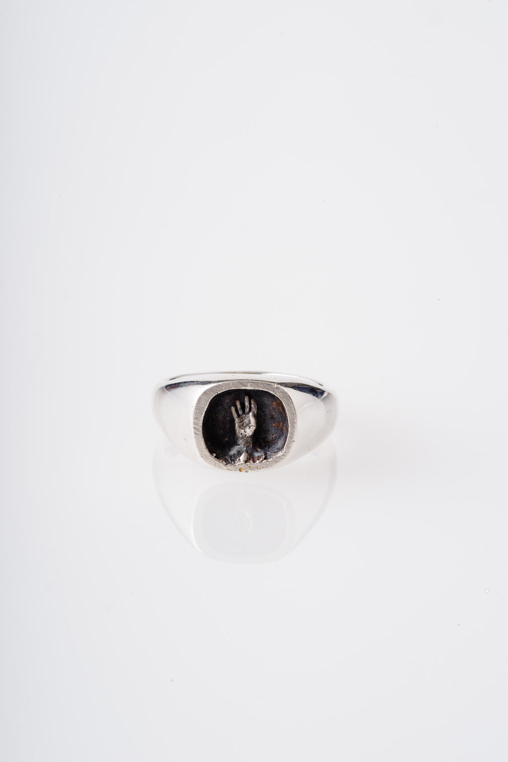 STERLING SILVER REACH RING