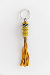HANDBEADED BULLET SHELL KEYCHAIN NO. 8