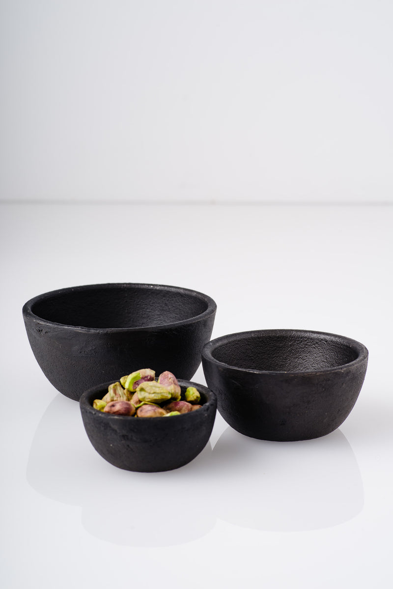 Hawkins | CAST IRON NESTING BOWL SET