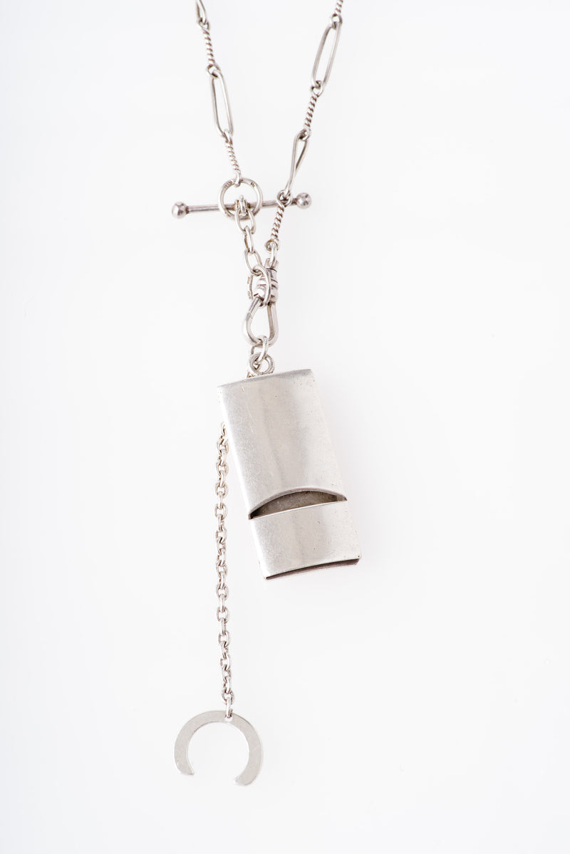 Vintage | WHISTLE WITH VICTORIAN WATCH CHAIN