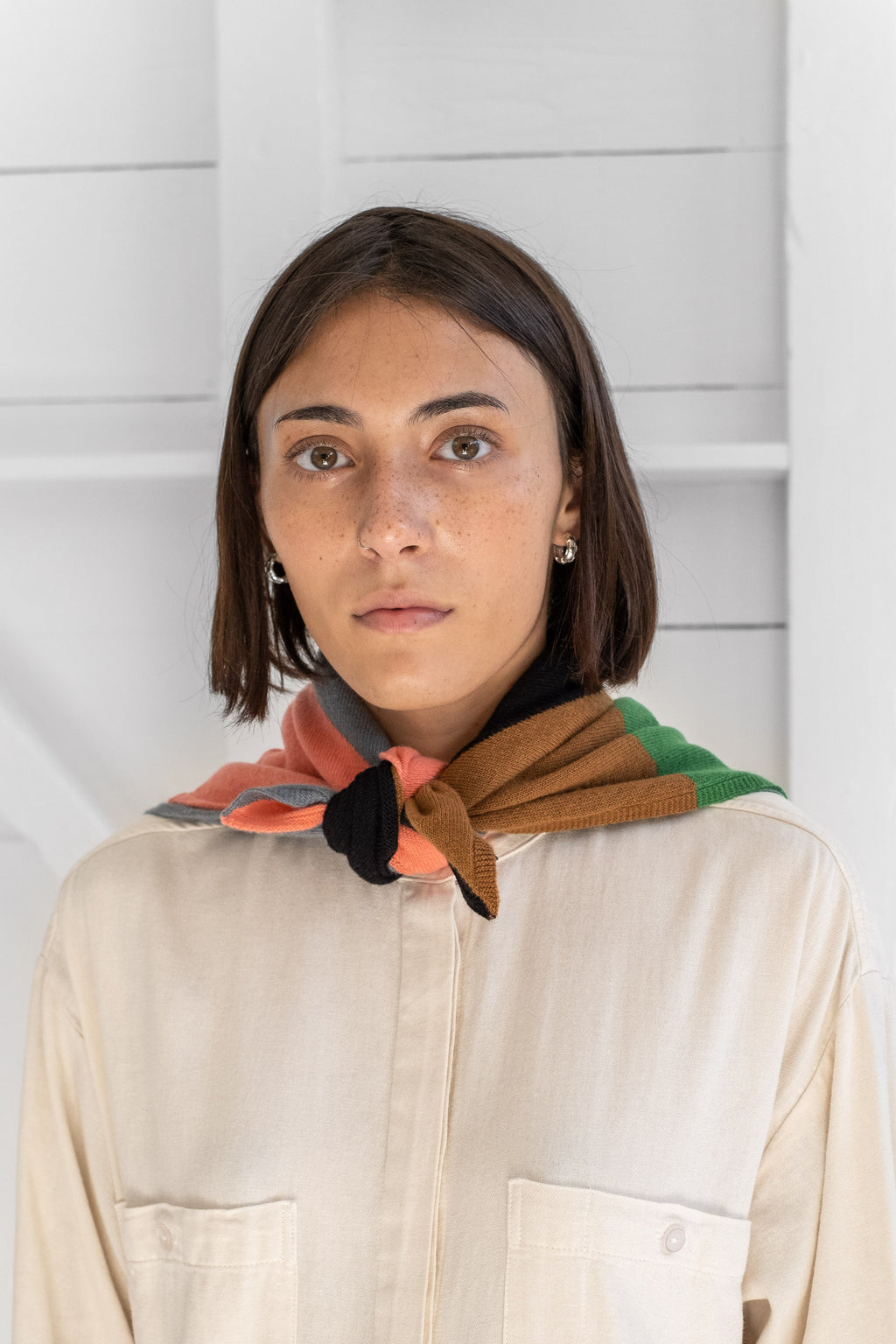 EIGHTHS SQUARE NECKERCHIEF