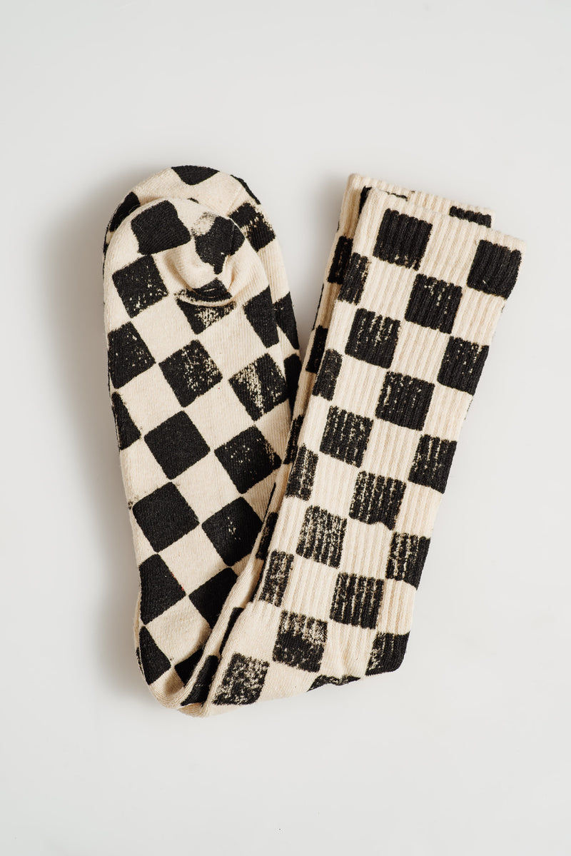 JUNGMAVEN-CHECKERBOARD-SOCKS