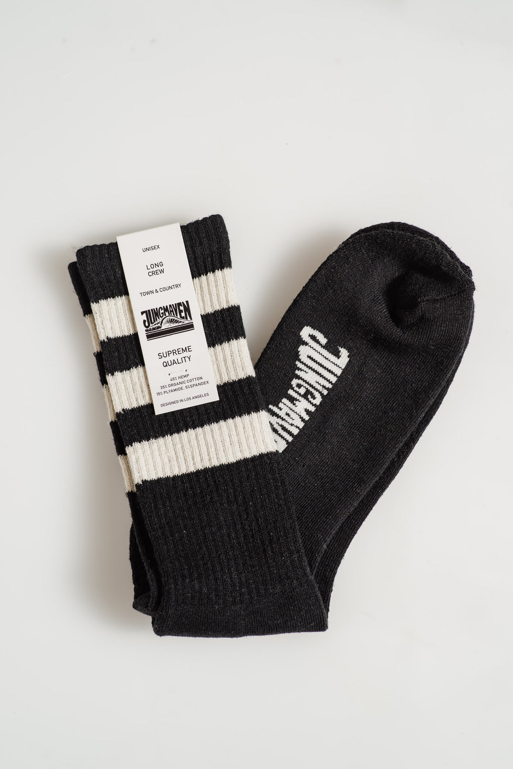 JUNGMAVEN-WHITE-STRIPES-SOCKS