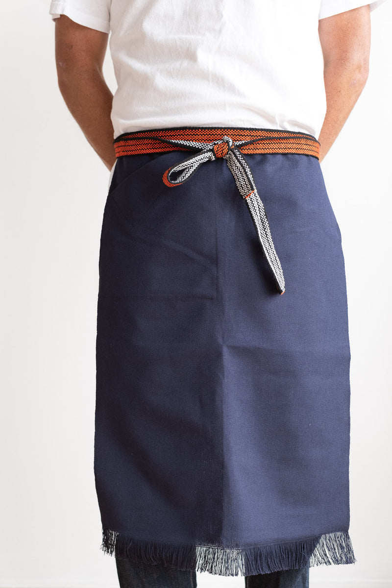 WORK APRON IN NAVY