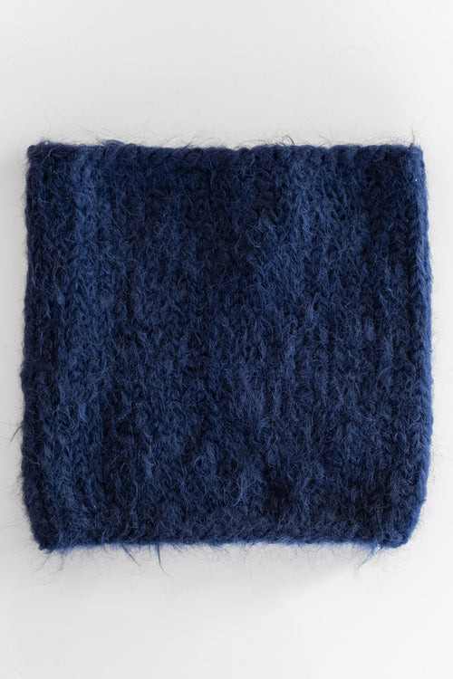 ALPACA SNOOD IN NAVY