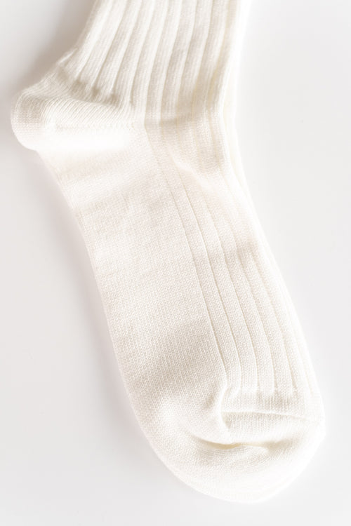 ATHLETIC SOCKS IN WHITE