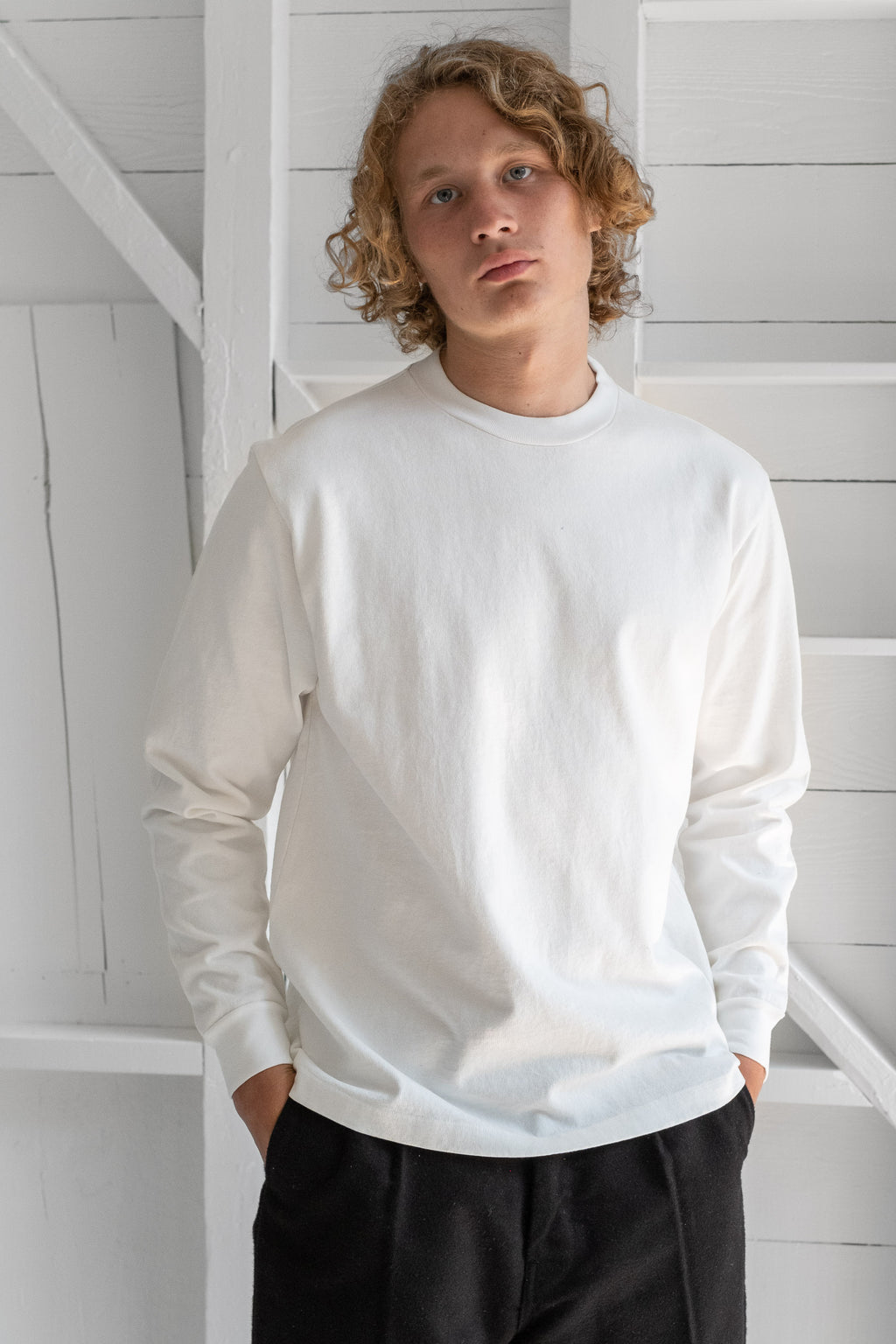 LONG SLEEVE RUGBY T-SHIRT