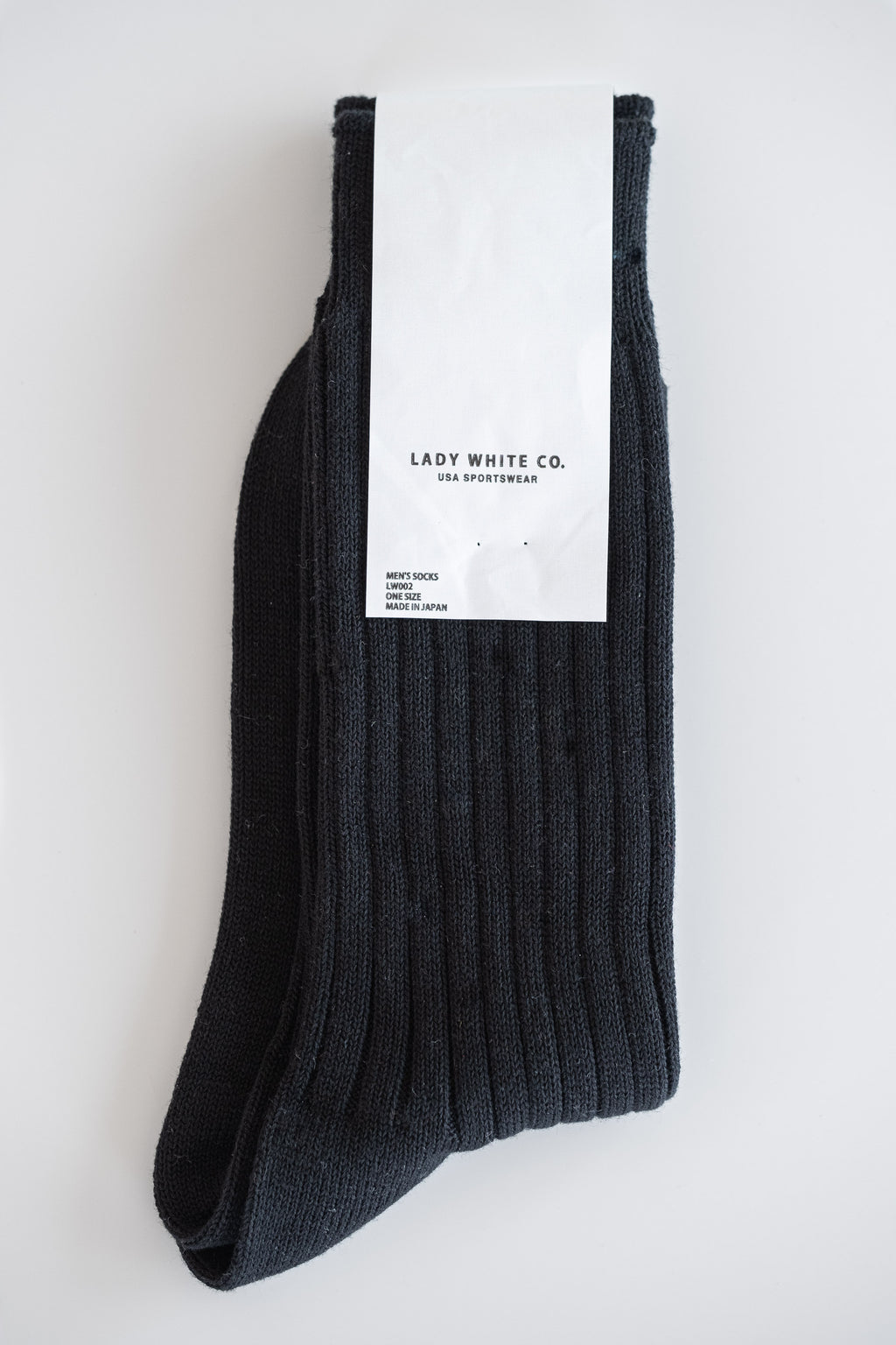 BLACK ATHLETIC SOCKS