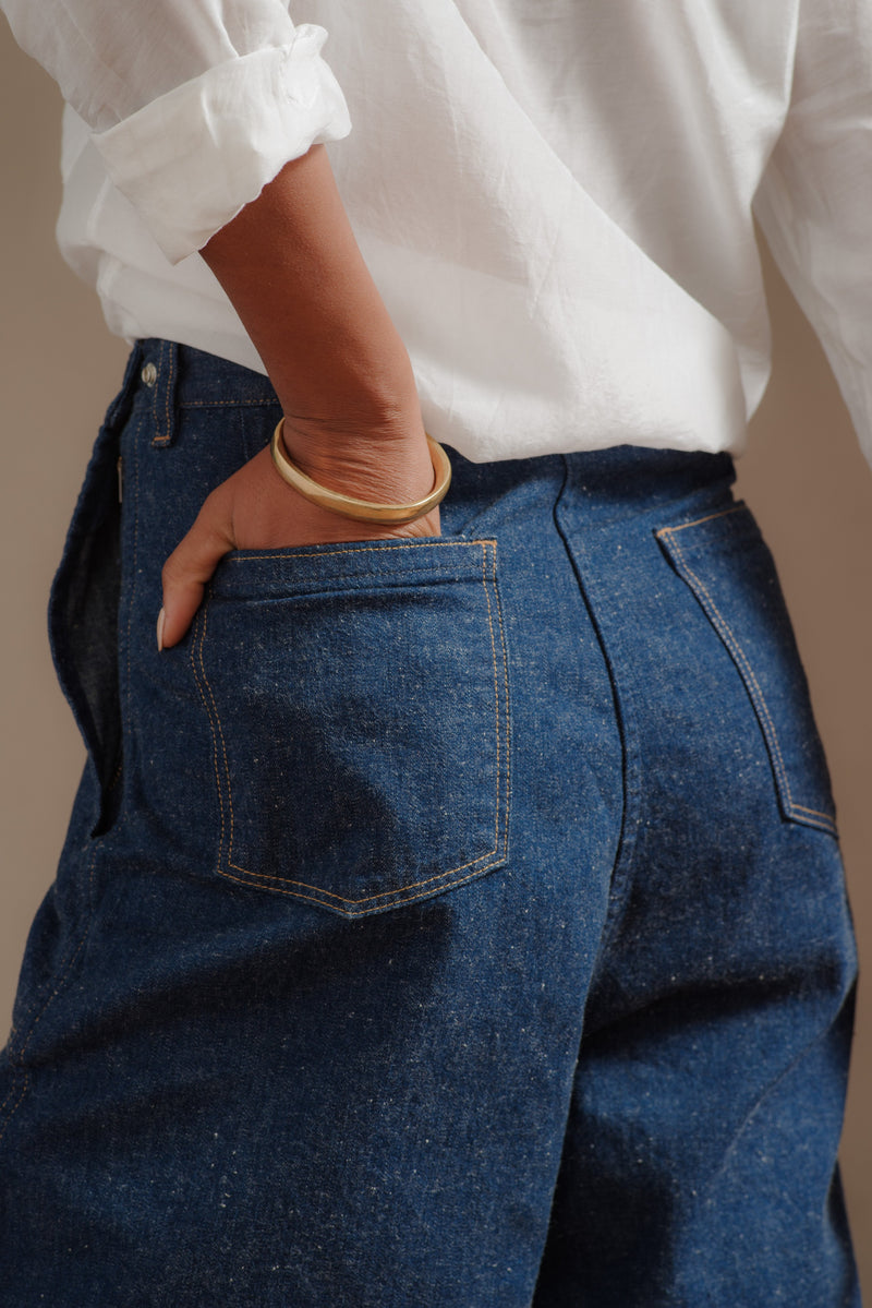 orSlow | BAGGY RANCH PANT IN ONE WASH DENIM