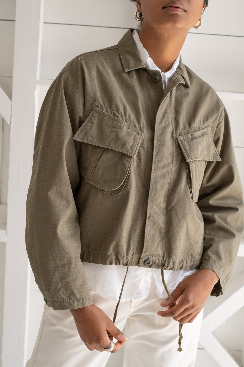 SHORT ARMY JACKET