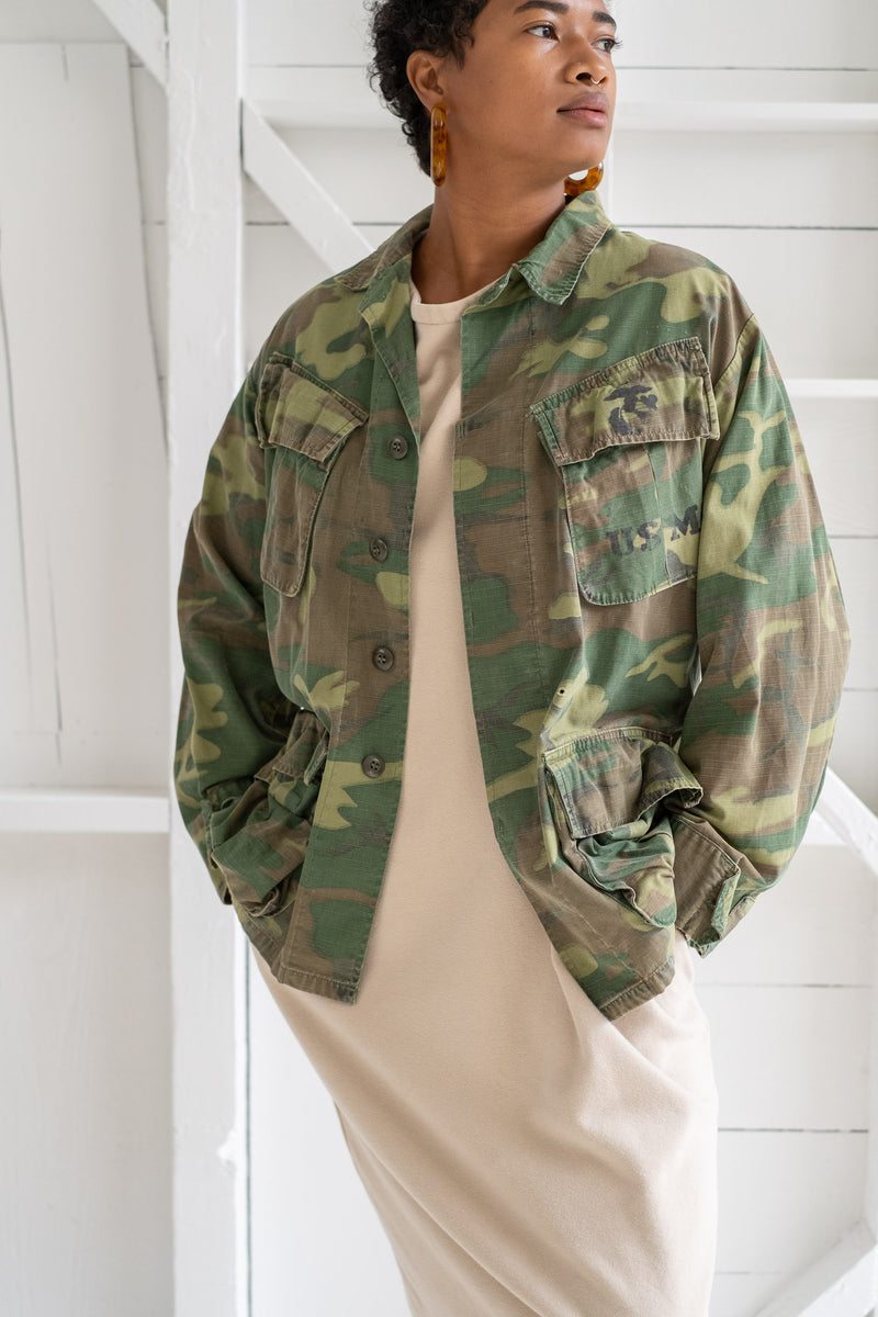VIETNAM WAR CAMO JACKET