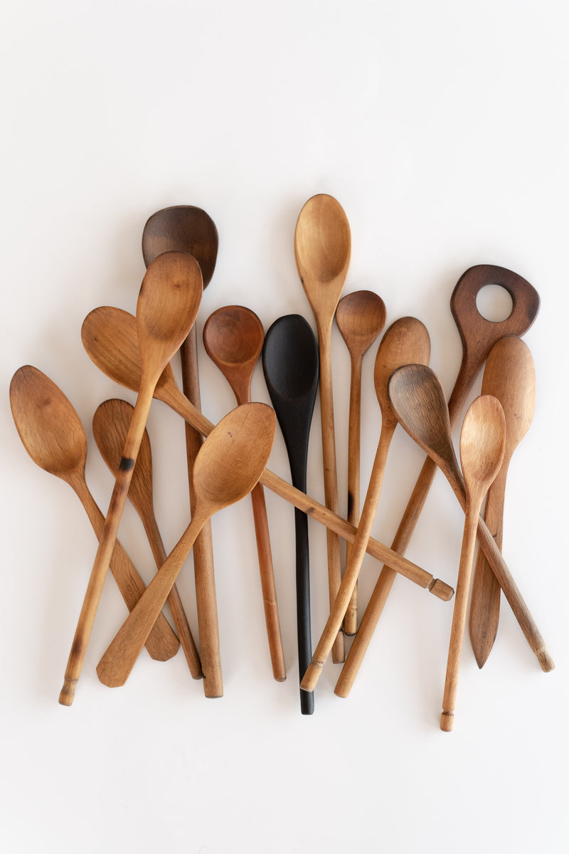 LARGE RESTORED WOOD SPOONS