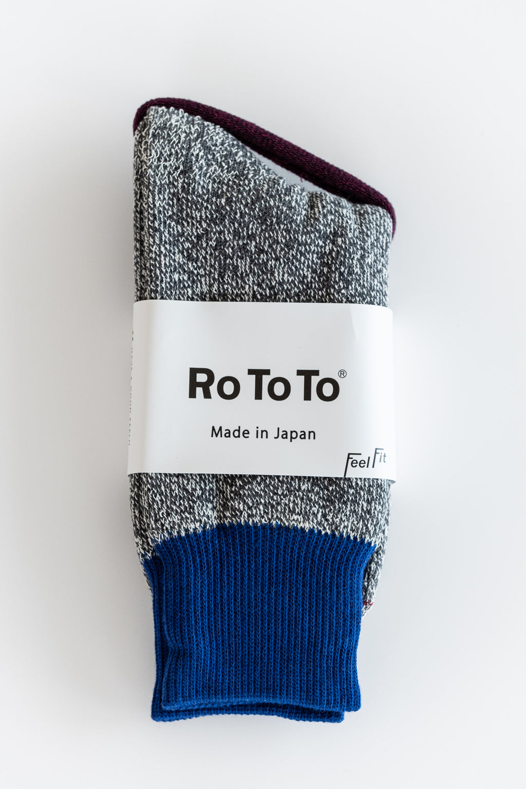BLUE DOUBLE FACE SOCKS