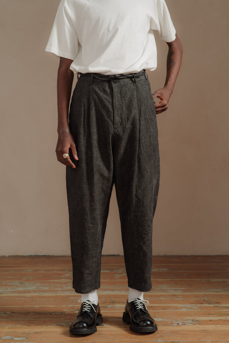 SAGE-DE-CRET-BLACK-TWO-TACK-PEG-TOP-PANT