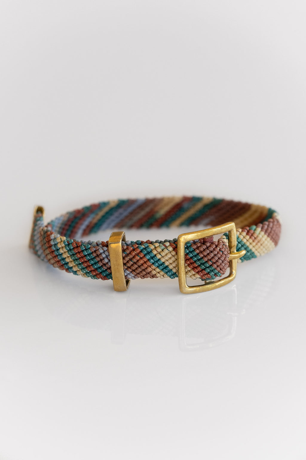 BRASS + VINTAGE FLYLINE BELT BRACELET