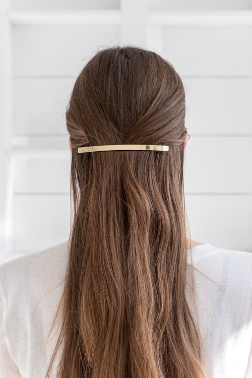 XS BARRETTE GOLD