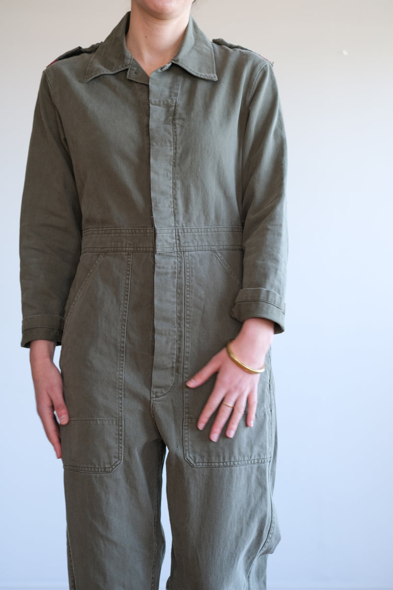 ARMY GREEN COVERALL