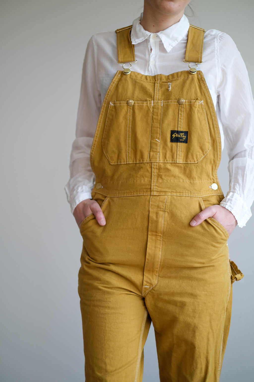 GOLD OVERALLS