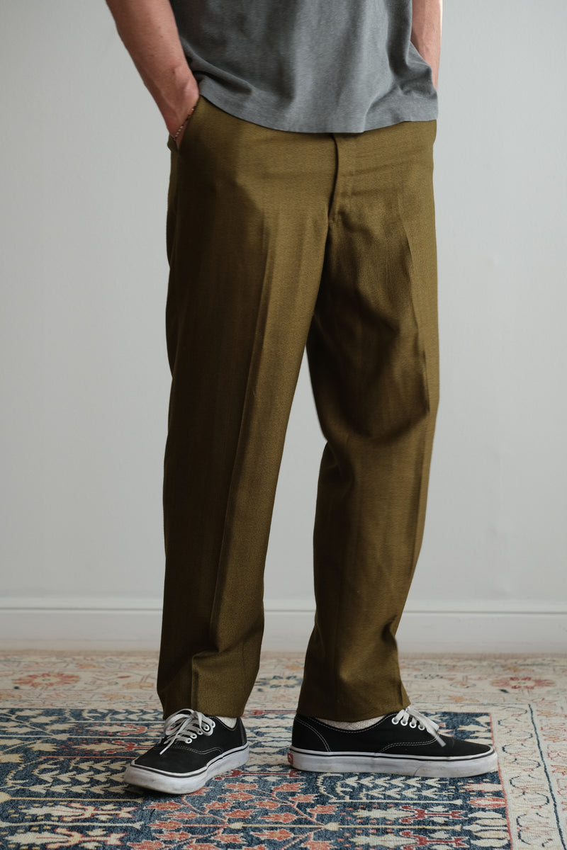 GREEN MEN'S TROUSERS