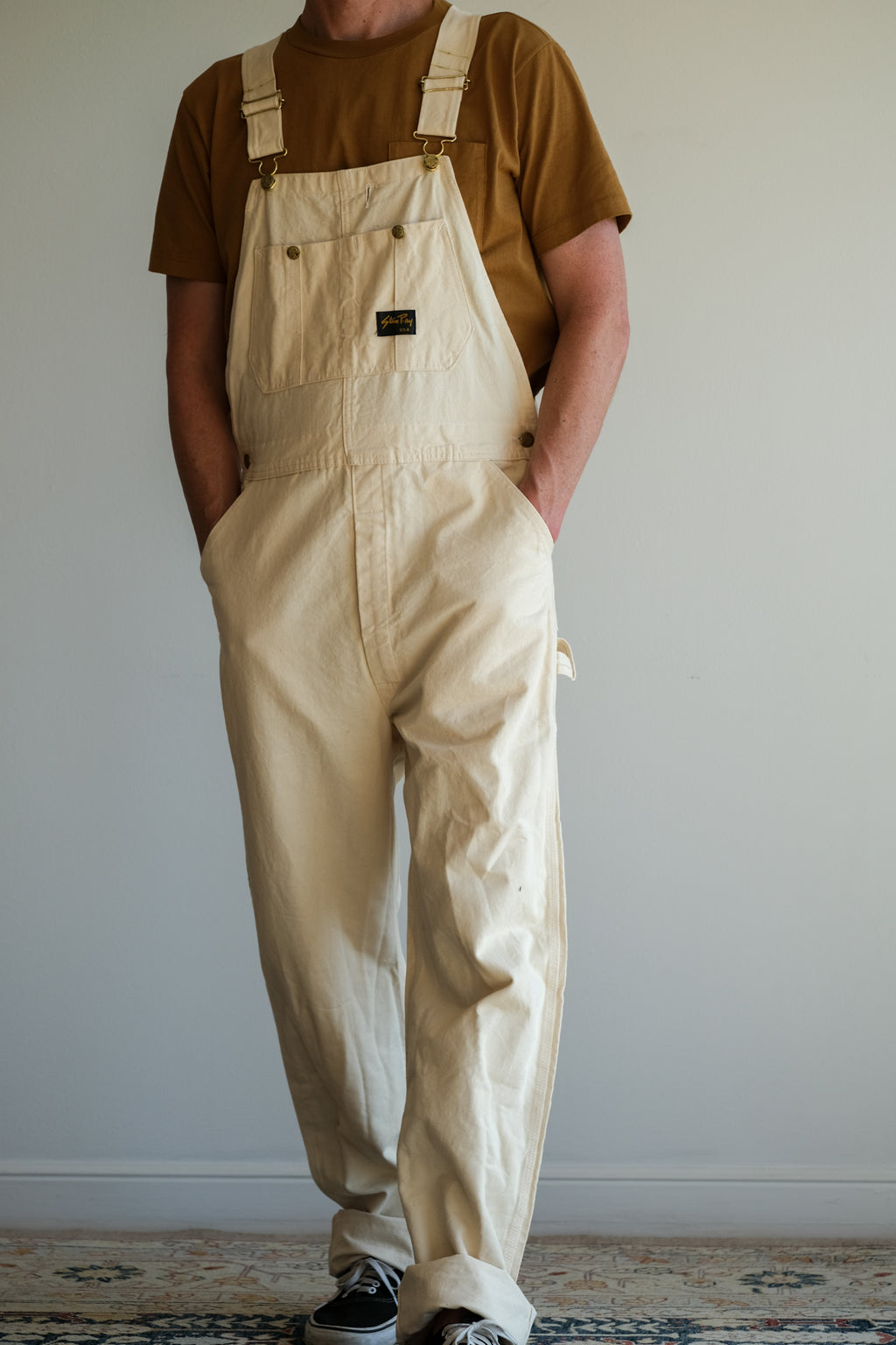 NATURAL COTTON  OVERALLS