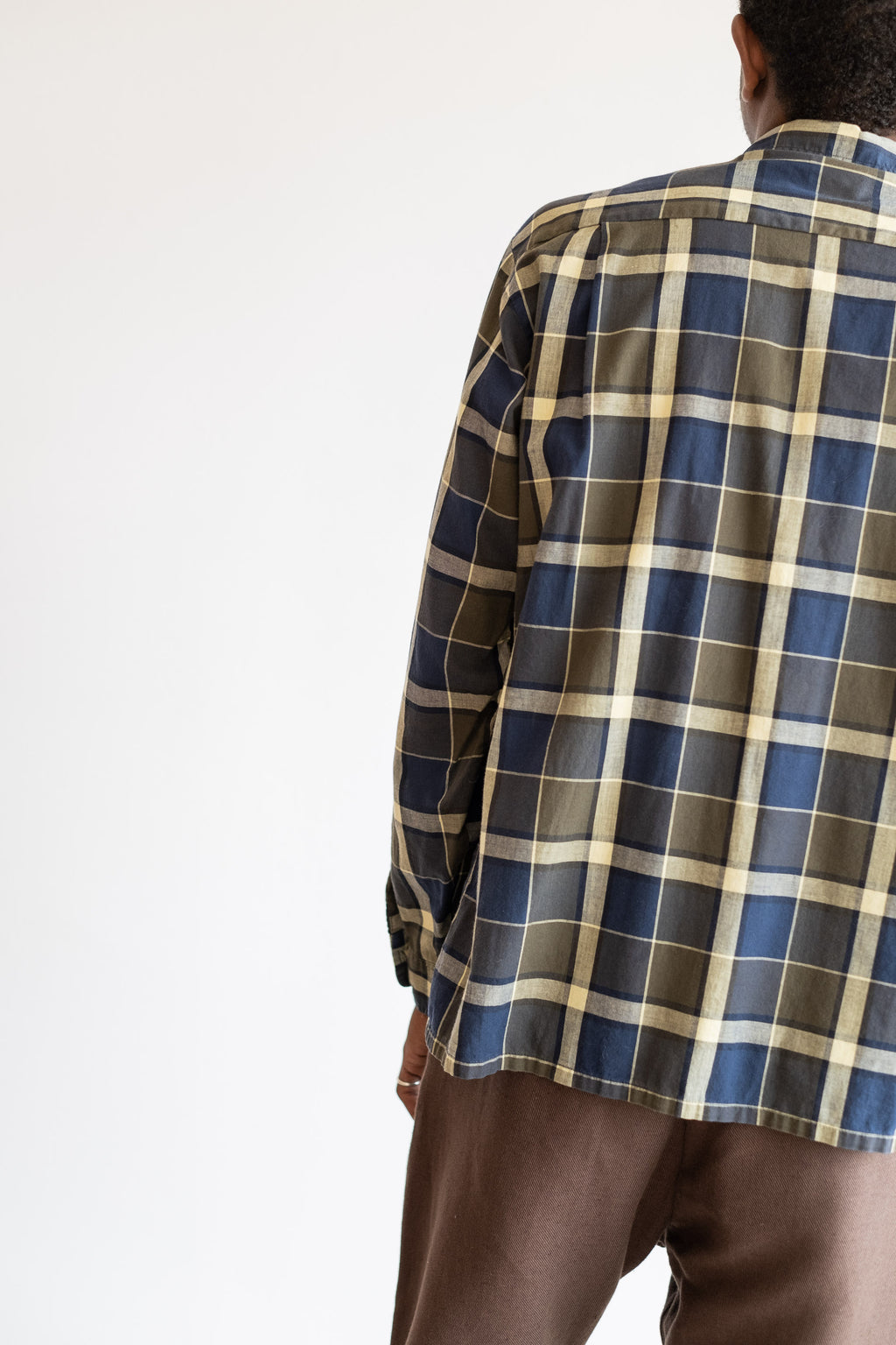 1950's LONG SLEEVE PLAID SHIRT