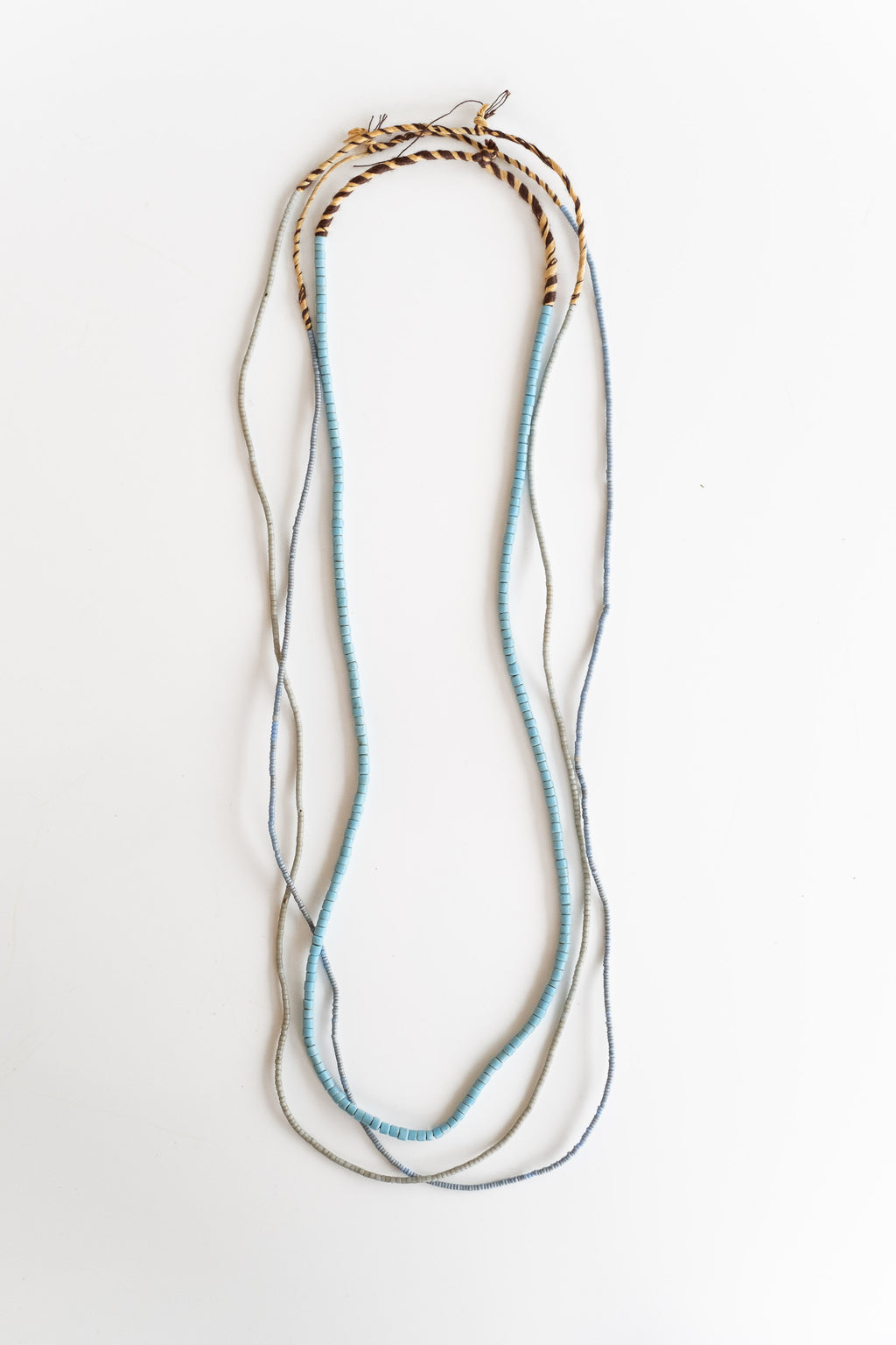 3-STRAND AFRICAN BEADS NO. 1