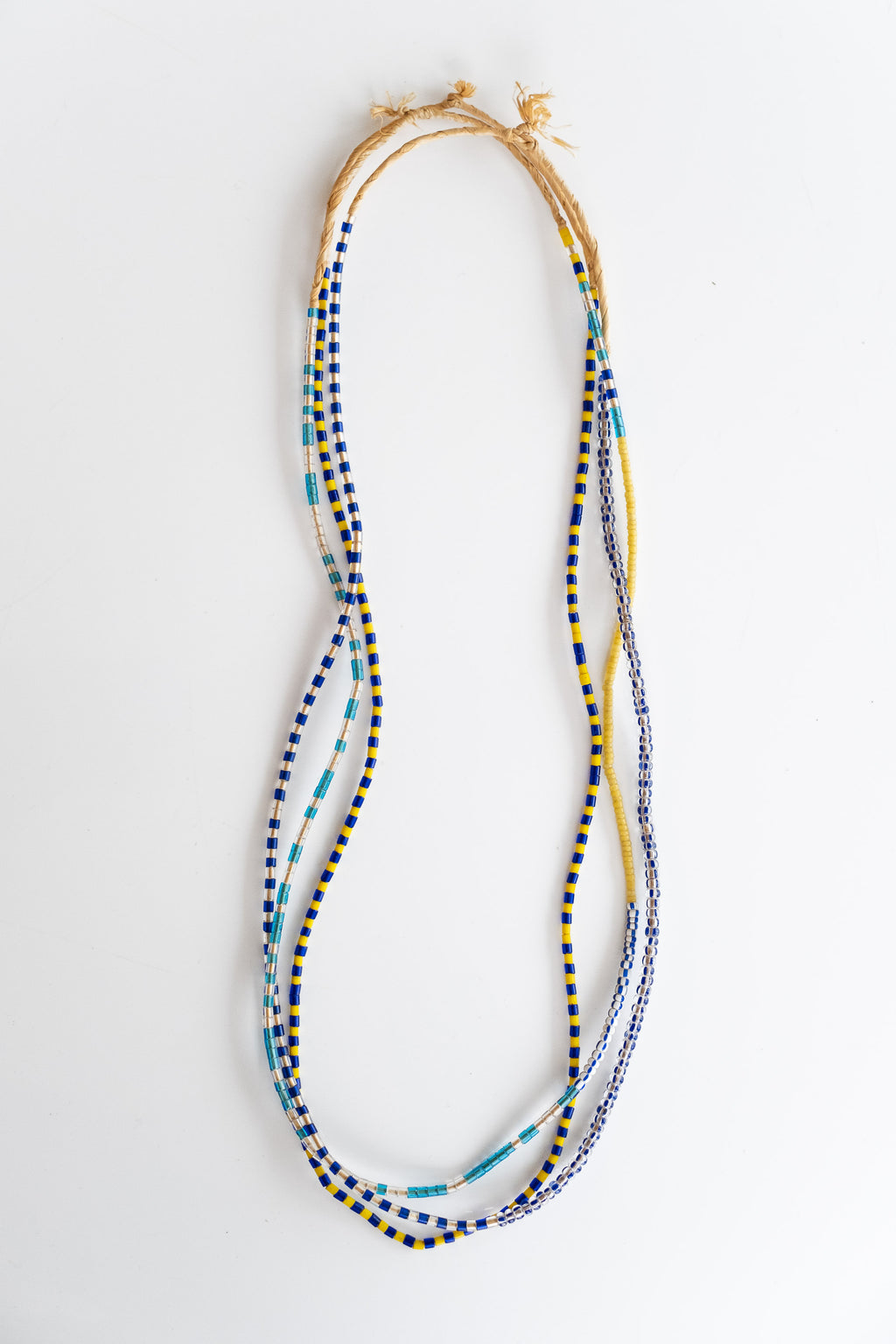3-STRAND AFRICAN BEADS NO. 10