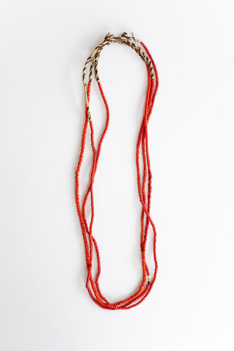3-STRAND AFRICAN BEADS NO. 11