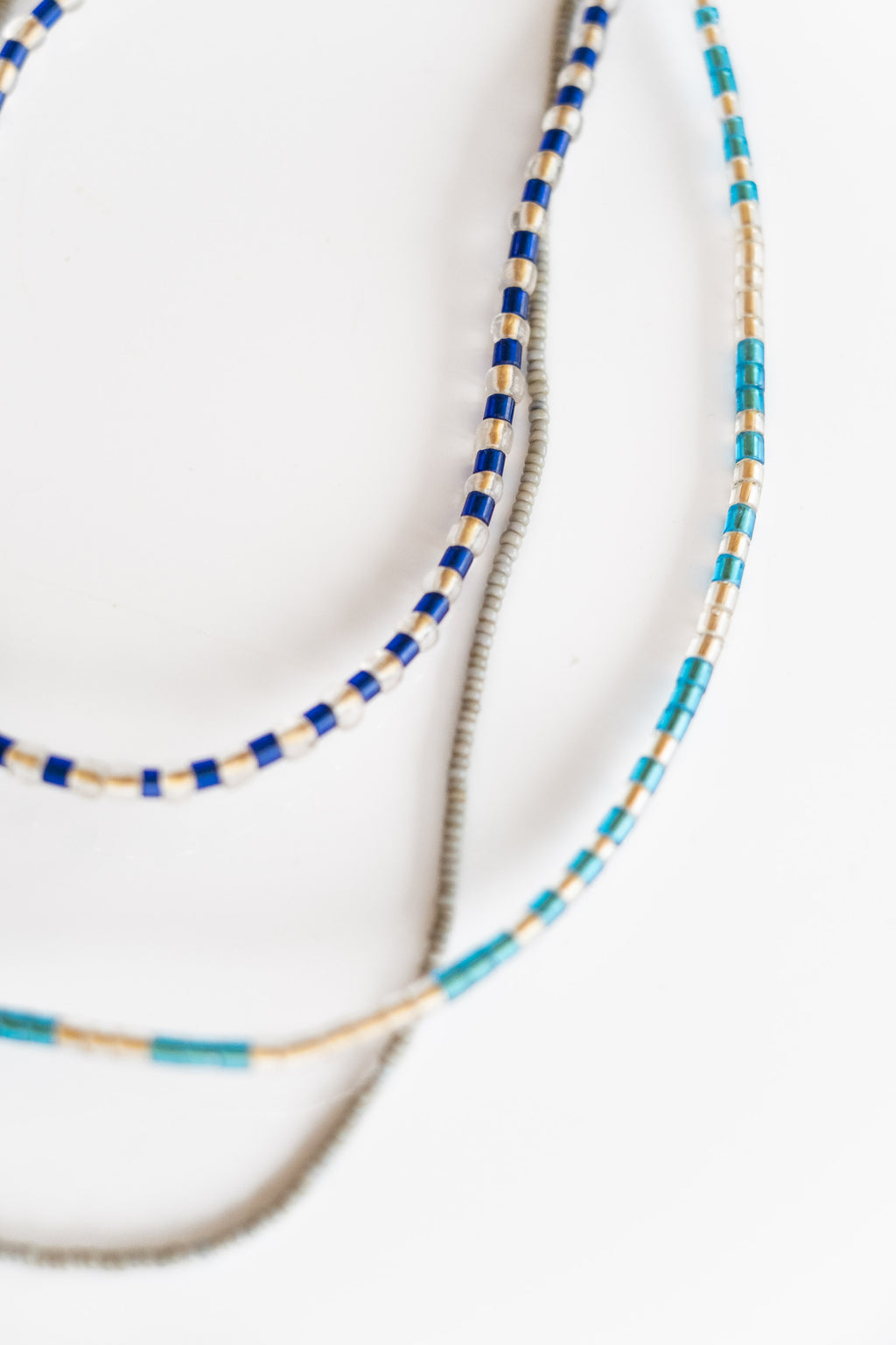 3-STRAND AFRICAN BEADS NO. 2