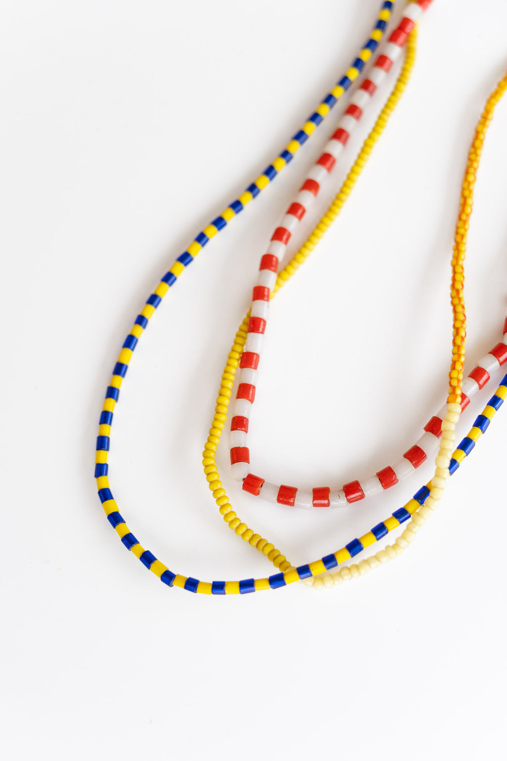 3-STRAND AFRICAN BEADS NO. 3