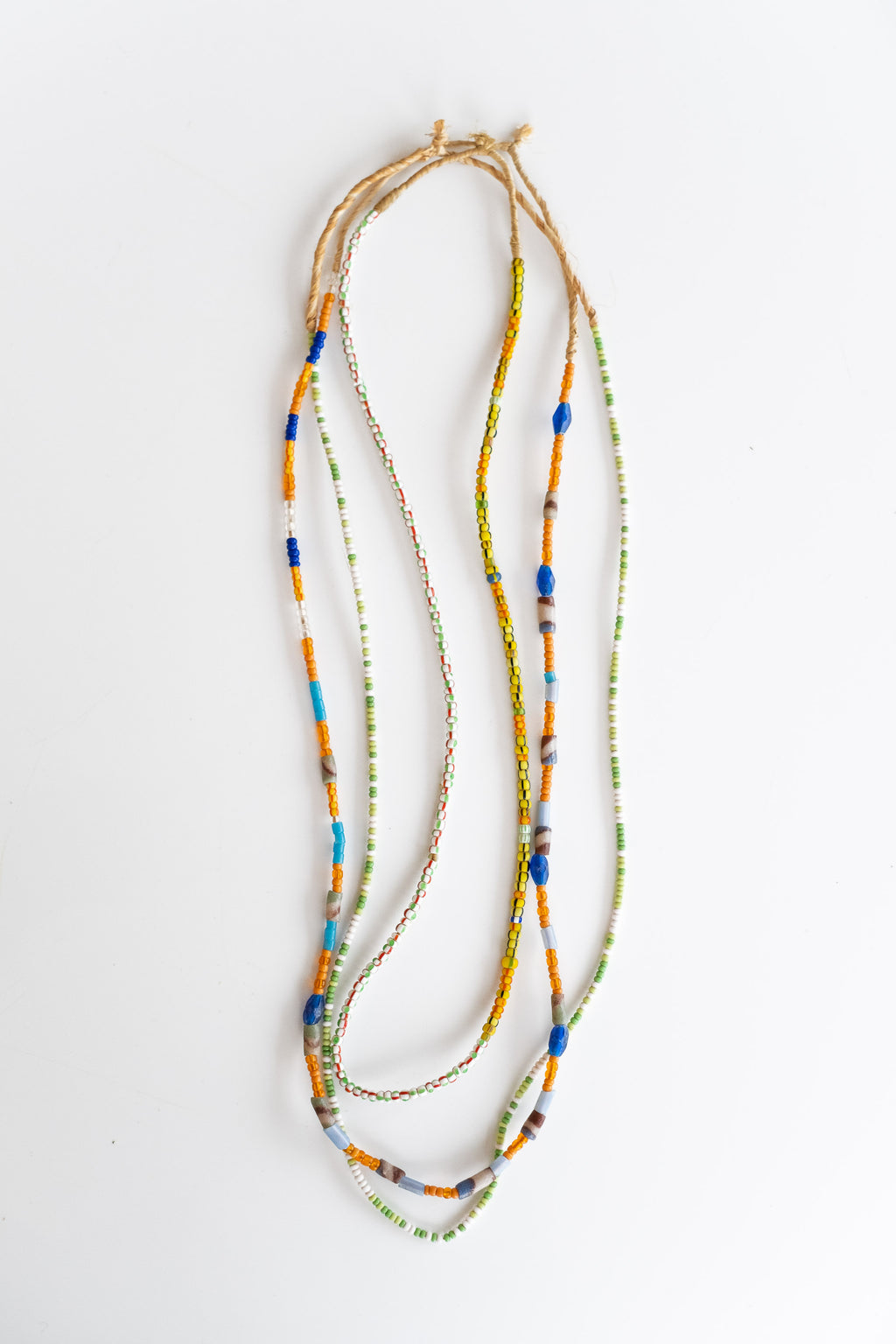 3-STRAND AFRICAN BEADS NO. 4