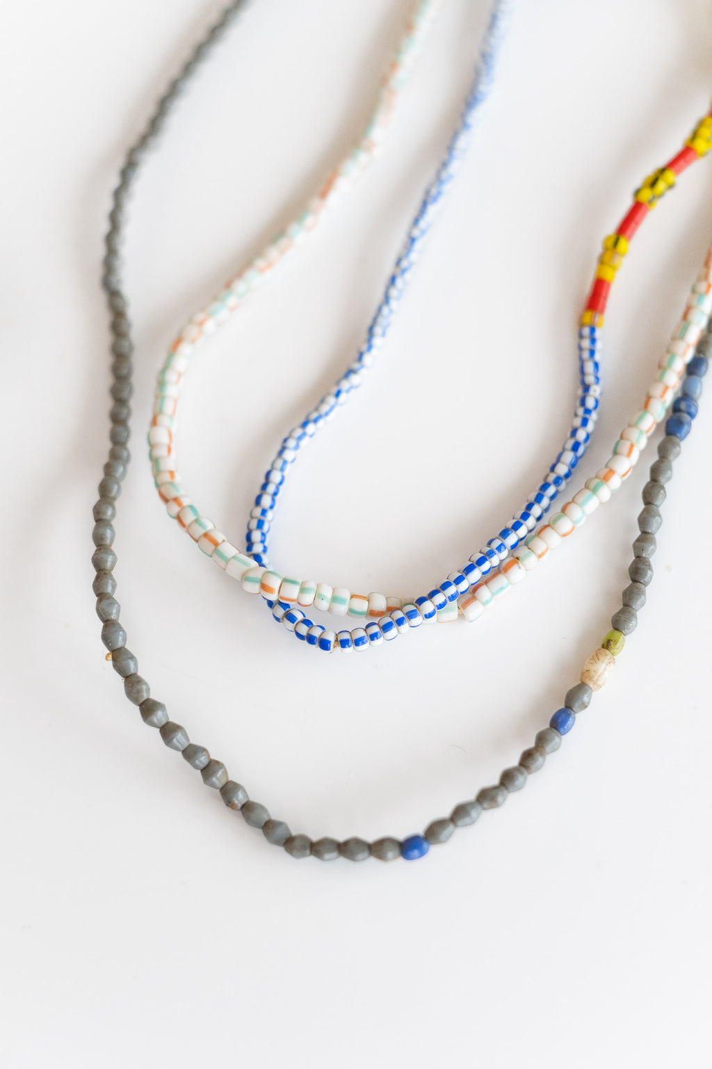 3-STRAND AFRICAN BEADS NO. 5