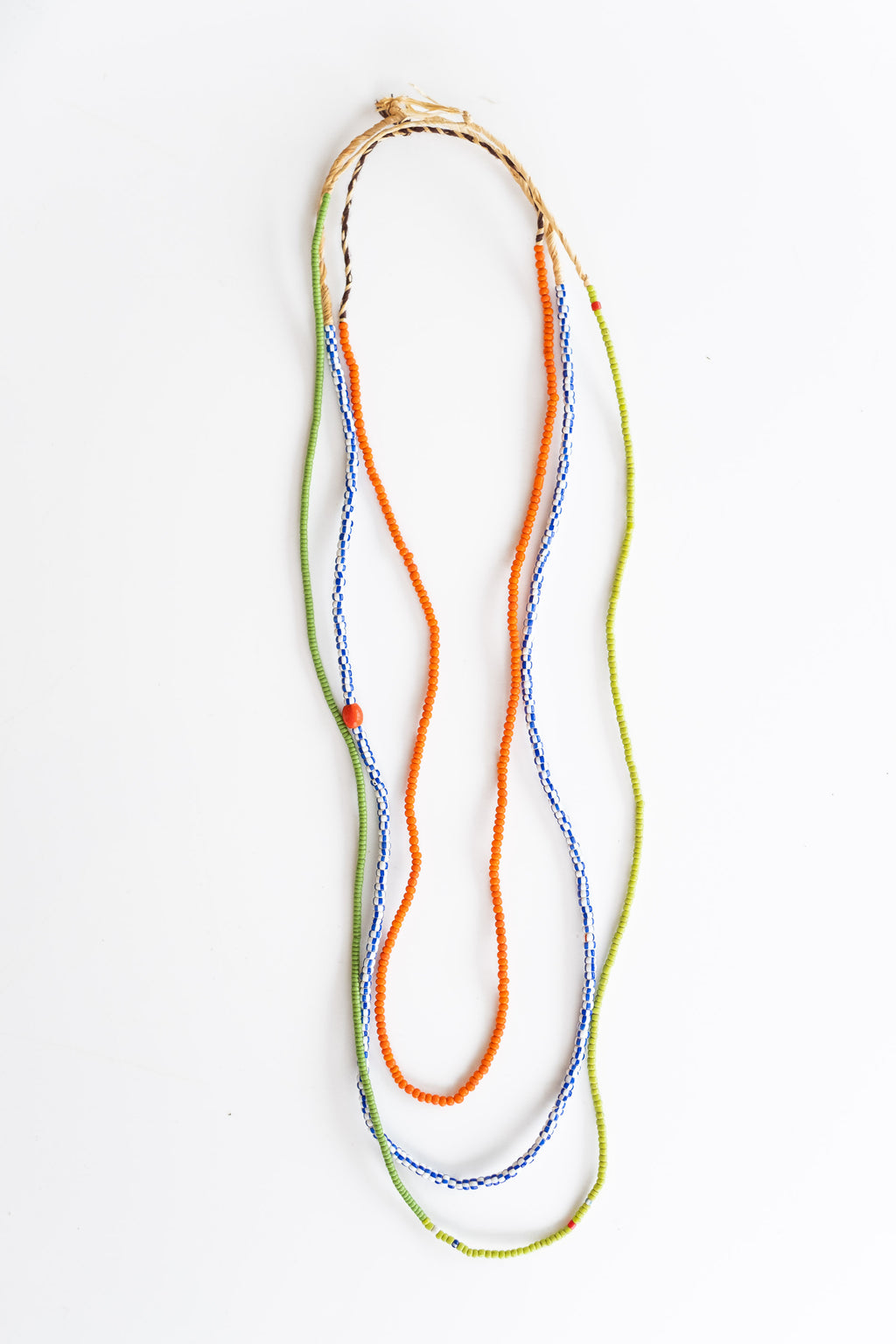3-STRAND AFRICAN BEADS NO. 6