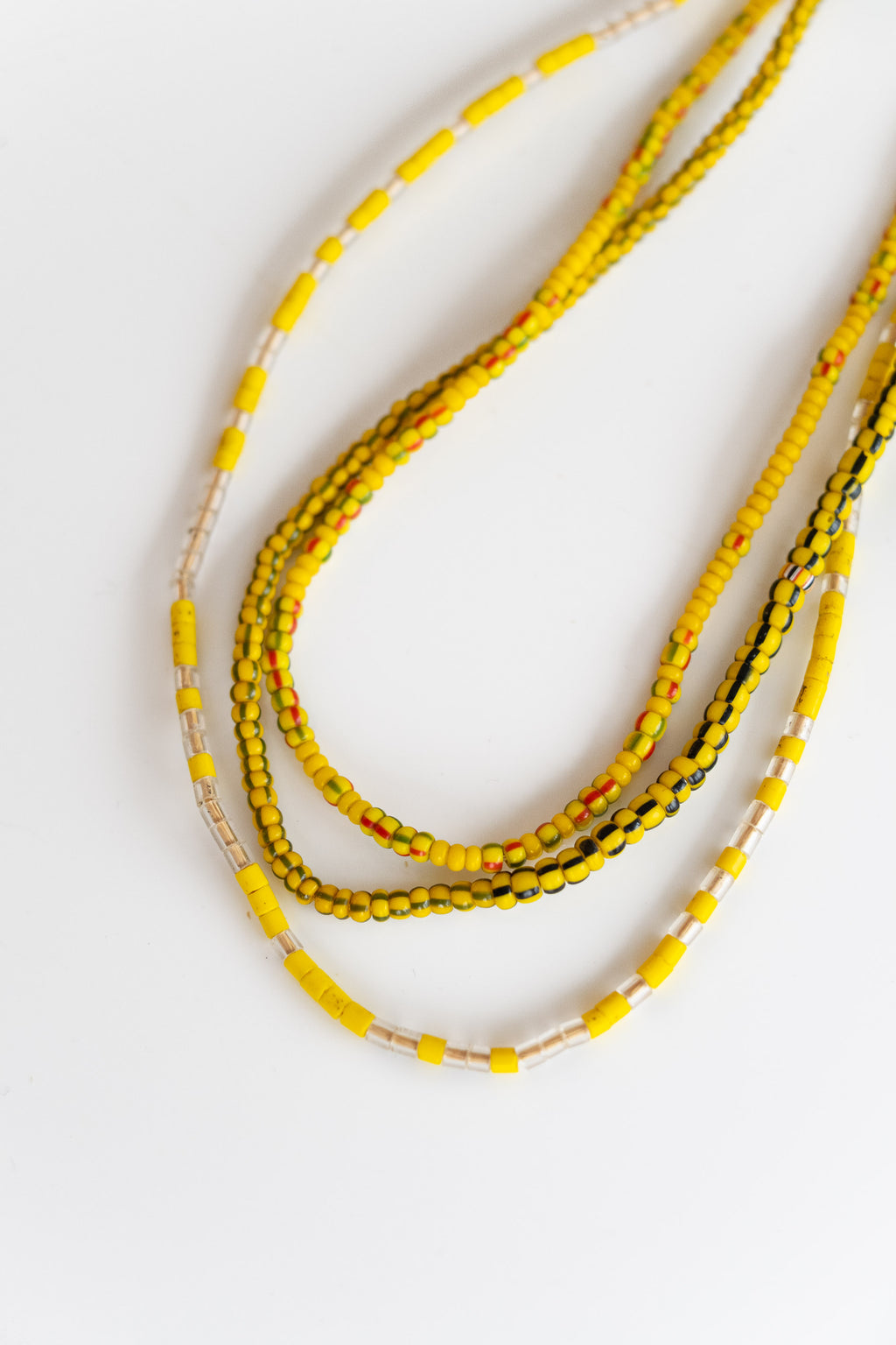 3-STRAND AFRICAN BEADS NO. 8