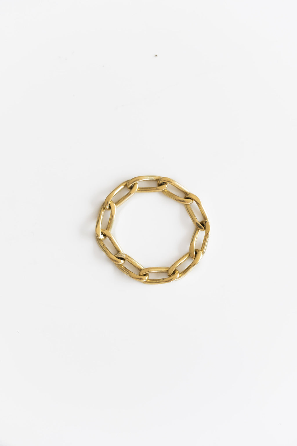 18K FLEXIBLE CHAIN RING