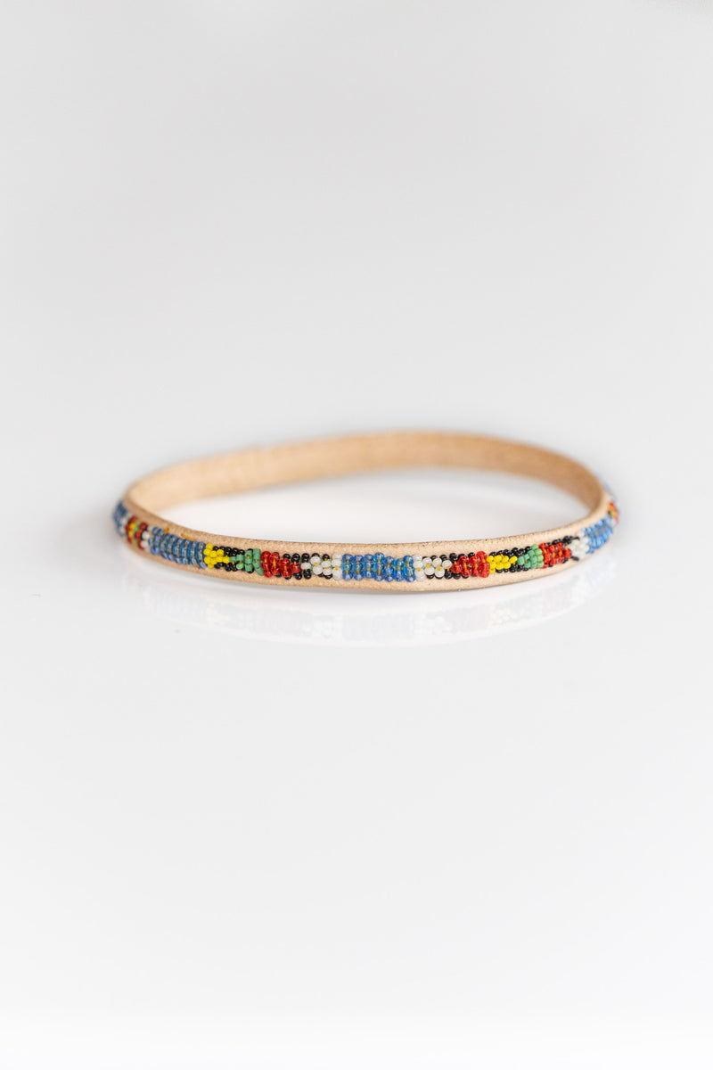 MALI BEADED BANGLE NO. 3