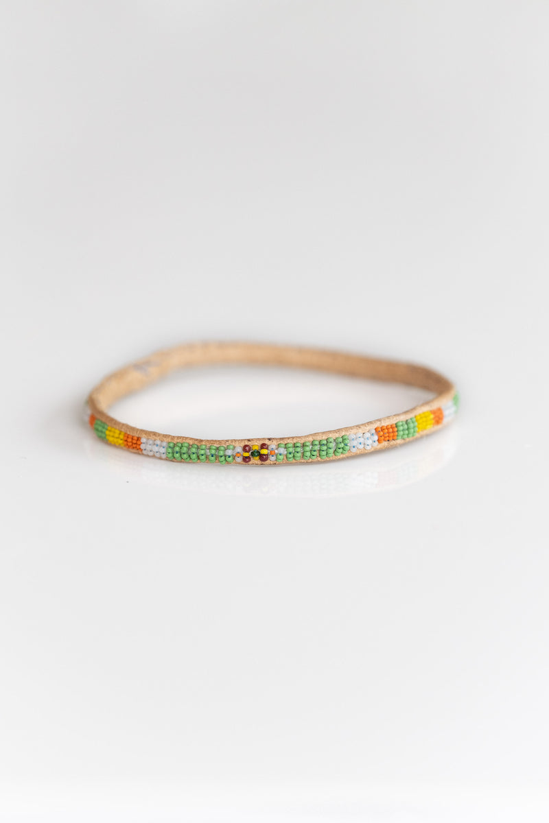 MALI BEADED BANGLE NO. 5