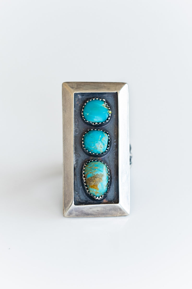 NAVAJO SHADOWBOX RING