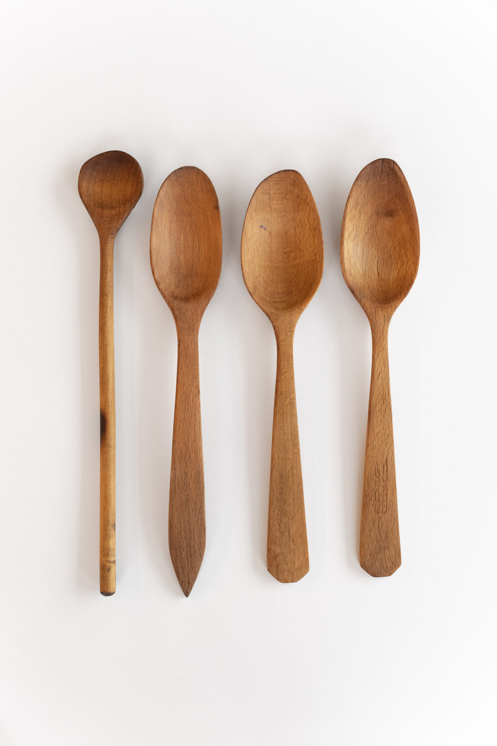 MEDIUM RESTORED WOOD SPOONS
