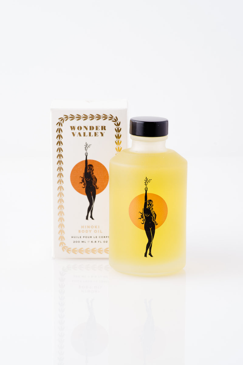 Wonder Valley | HINOKI BODY OIL