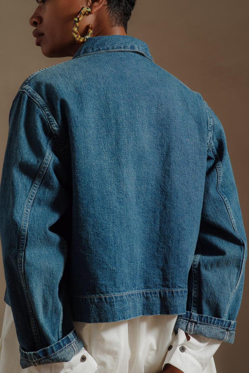 orSlow-USED-DENIM-SHORT-JACKET