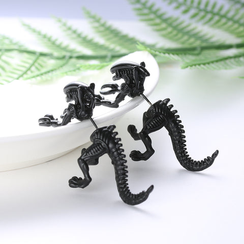 Alien Xenomorph  Earrings