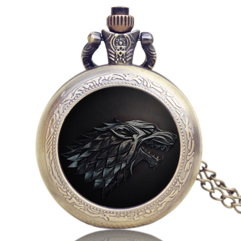 Stark Wolf | Pocket Watch