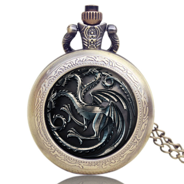 House Targaryen | Pocket Watch
