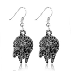 Millenium Falcon Drop Earrings